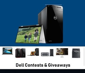 Dell Computers Contest: Win Dell XPS 15 laptop ($2,029)