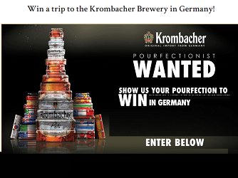 Krombacher Brewery #Giveaway: Win Trip to Germany