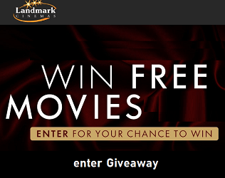 Landmark Cinemas Contest Win Free Movies for a Year