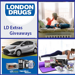 London Drugs 2019 LDExtras Contests giveaway