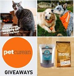 Petcurean Sweepstakes Dog & Cat Food Giveaways