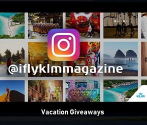 KLM iflymagazine com Contest: Win Scubba Travel Package