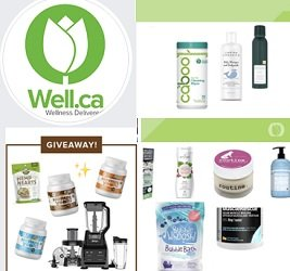 The Well.ca Contest Facebook.com/wellca Giveaways