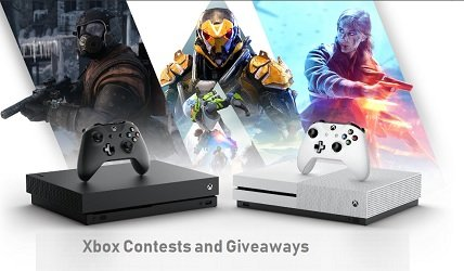 Microsoft Xbox Contests for Canada Giveaways.
