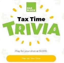 H&R Block Contests