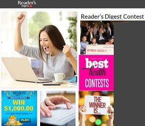 Readers Digest Contests