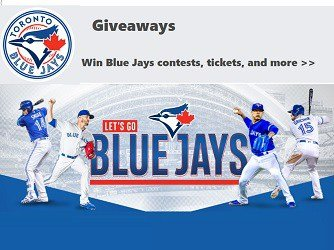 BLUE JAYS GAME DAY GIVEAWAYS