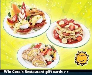 Cora Restaurant Canada contests