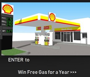 Shell Canada Survey Contest free gas for a year