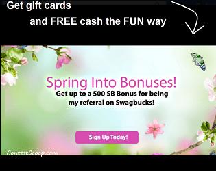 Join Swagbucks Rewards Program (Canada & US) and Earn 300 Bonus Points
